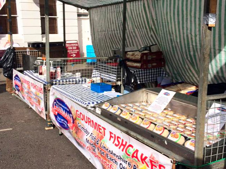 Chapman's Seafoods Events Stall