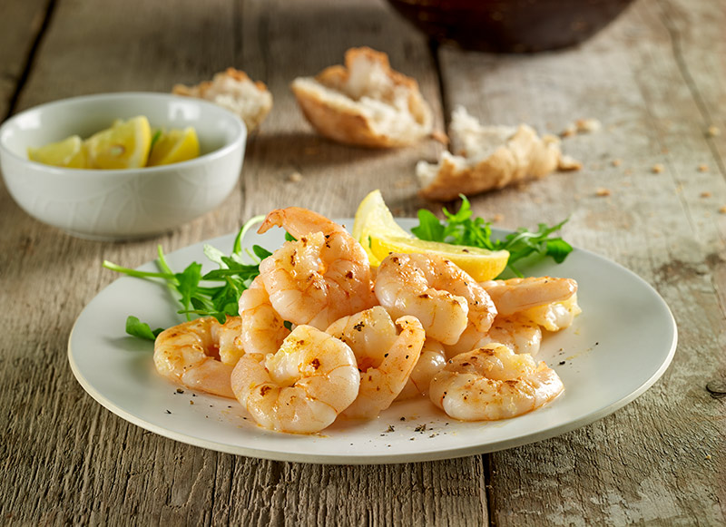 Large Luxury Cooked and Peeled Prawns